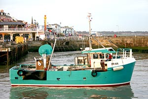 Hollie J fishing boat